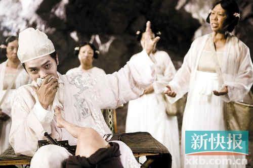 星爷大赞罗志祥作为偶像却有喜感,反差大,不错。