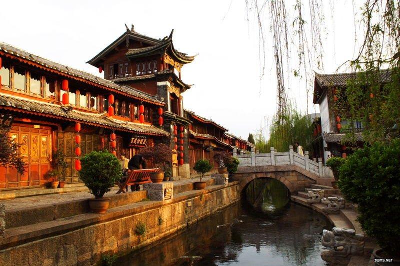 云南丽江古城 于1997年12月申遗成功