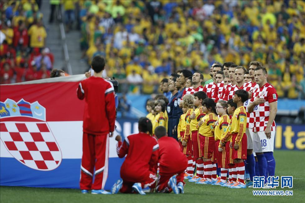 率领东道主3:1逆转击败克罗地亚队.2014年巴西世界杯就这样以极图片
