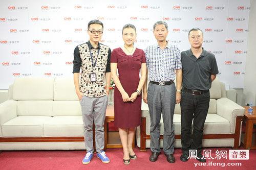 陈思思携 中国梦 主创 做客 中国大舞台图片
