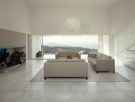 客厅地板砖效果图 打造完美客厅搭配有技巧