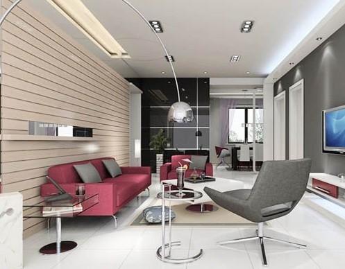 客厅地板砖效果图 打造完美客厅搭配有技巧图片