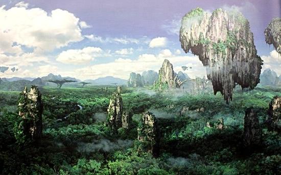 《阿凡达》:潘多拉星球