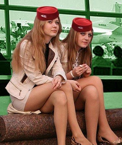 俄罗斯空姐百里挑一制服难掩身材好美女主播日韩美女图片
