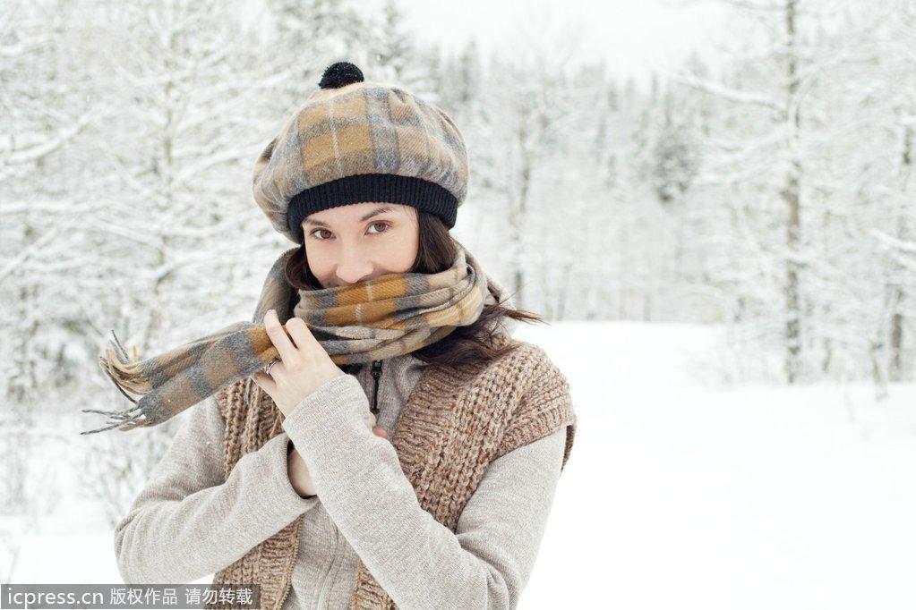 气温降10度护肤法 御寒保养摆脱起皮脸