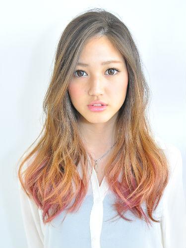 1.精彩的挑染成为本季最受欢迎发型.(图片来源:昕薇网)-本季日本图片