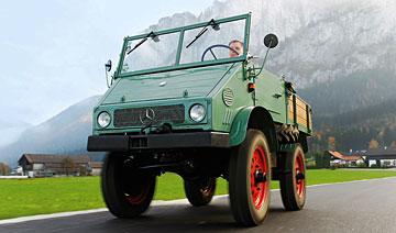 机械师手中复活的小巨人 Unimog 401