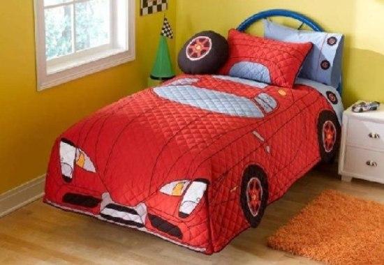 小男孩最爱 16款帅气汽车主题儿童房