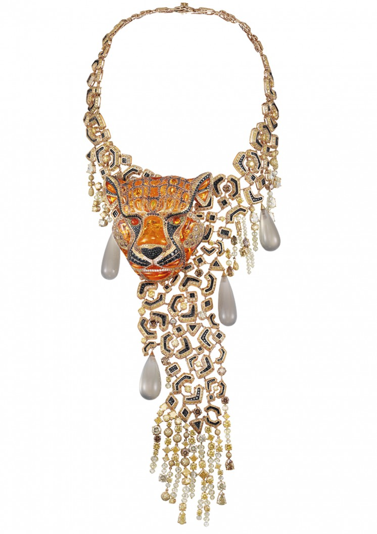 萧邦梦幻高级珠宝 限量版的动物世界