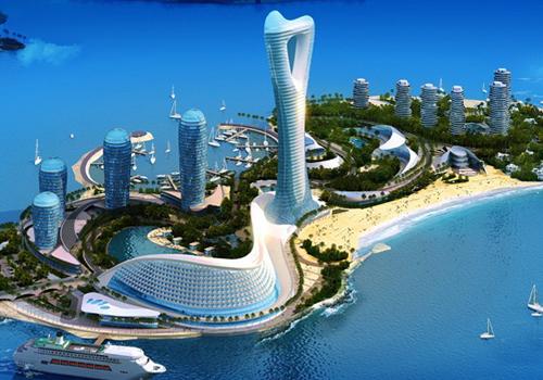 是海南最大的人工岛