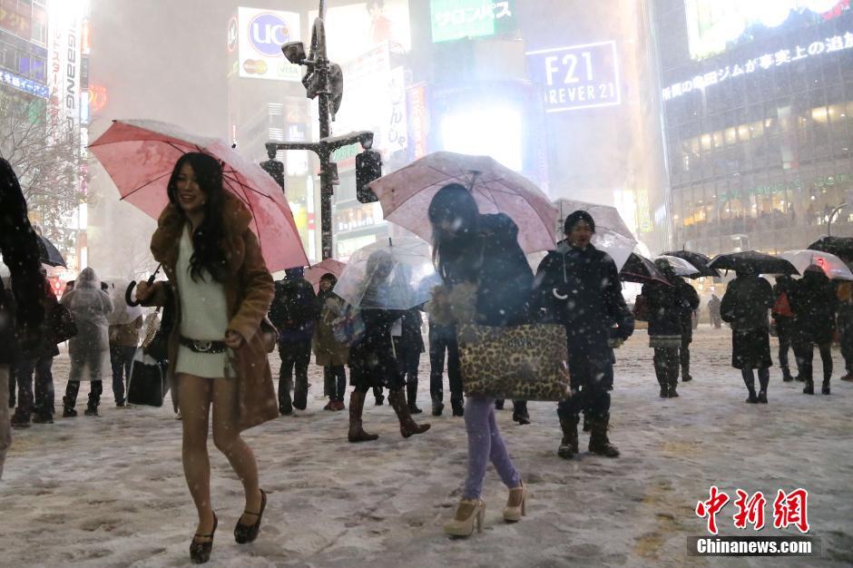 日本最时尚的街头涉谷车站前