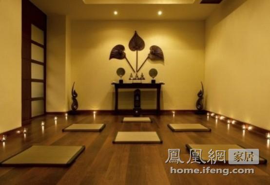 都市里的心灵修行 33款静谧瑜伽房设计图片