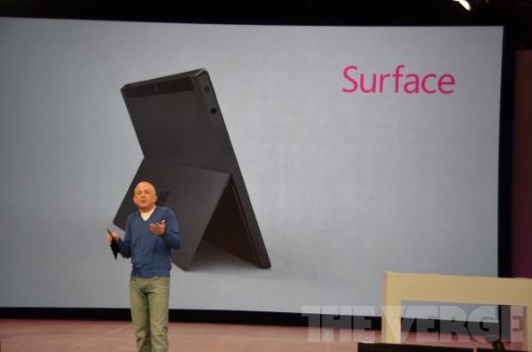 你知道微软发布平板电脑Surface ...