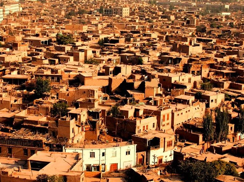 喀什城区高清图片