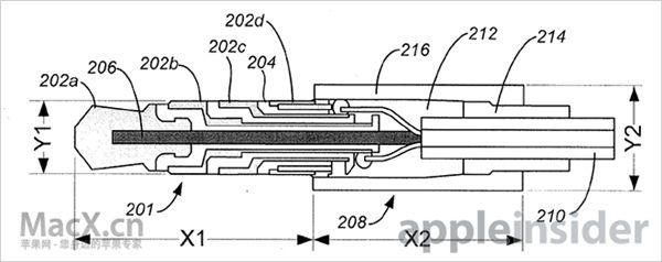 苹果新专利:柔性耳机插头