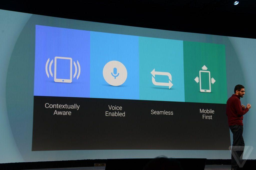 谷歌I/O大会发布安卓L/车载/电视系统及可穿戴