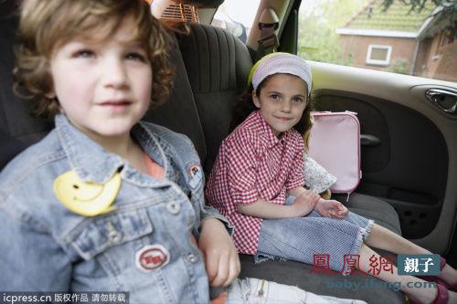 带孩子乘车外出10注意