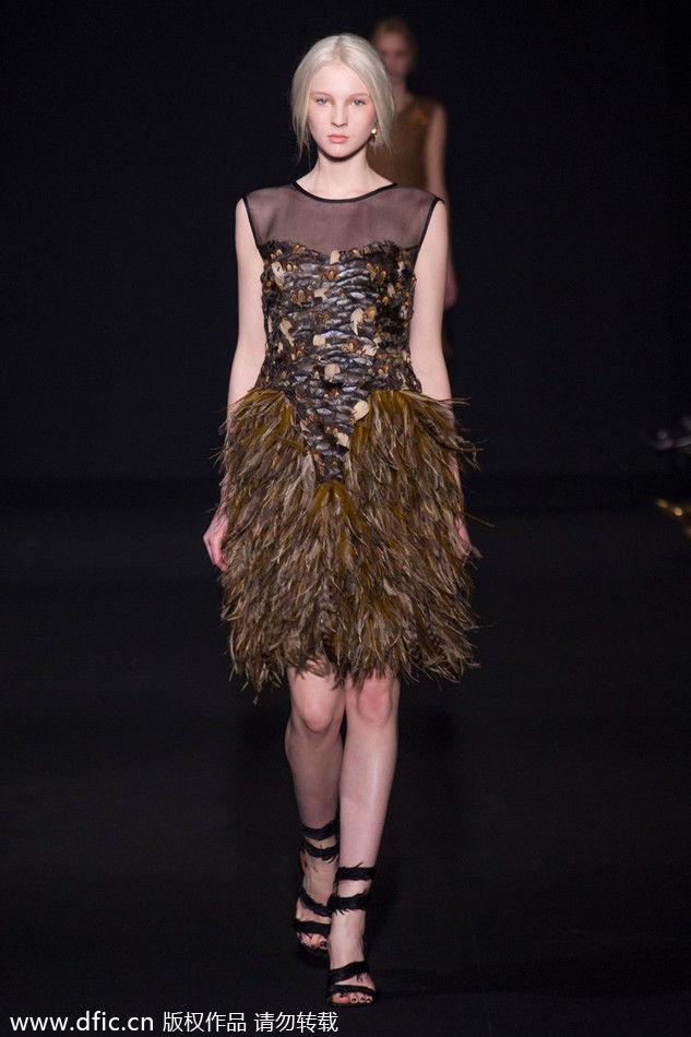 2014秋冬米兰时装周Alberta Ferretti发布