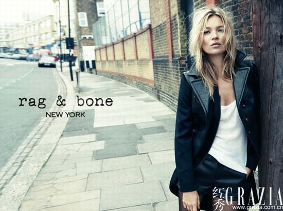 爱上英伦风的时尚摄影师 超模凯特演绎街头范儿