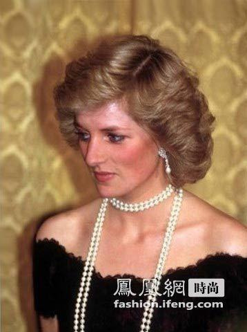 戴安娜王妃的珍珠配饰搭配秘诀