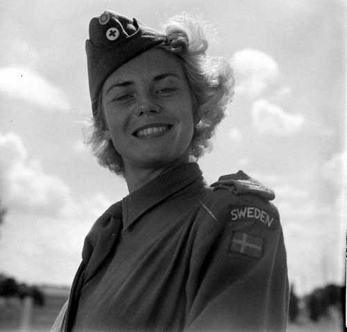 1950年的瑞典红十字会美女