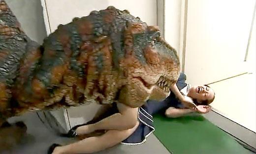 日本无节操整人节目 恐龙恶整妹子