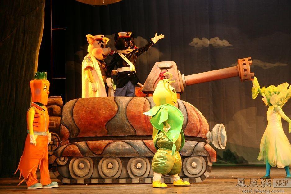 中国木偶剧院春季巡演 好戏连台转