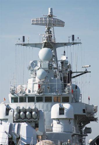 052驱逐舰诞生记:吸取马岛教训 解决电磁兼容