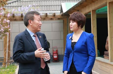 朱新礼接受《总裁在线》专访