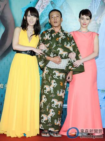 波多野结衣,金马与来台影帝李康生合拍这是《沙西米》,新片她的电影处温妓电影图片