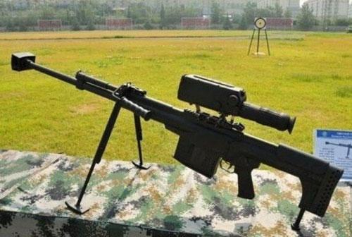 中国新型反步枪器材:狙击枪当炮使炒毛瓜步奏图片