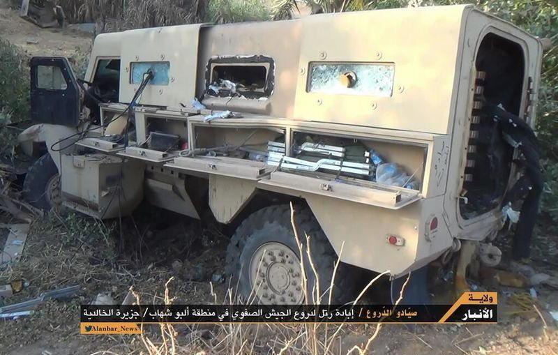 伊军美械装甲师被ISIS武装打残 M1A1坦克受辱 - 月  月 - 阳光月月(看新闻)