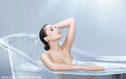 女人你知道如何清洗乳房吗