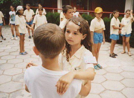 实拍 东欧青少年夏令营里的生活图片