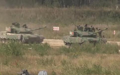 中国派精锐坦克征战俄罗斯