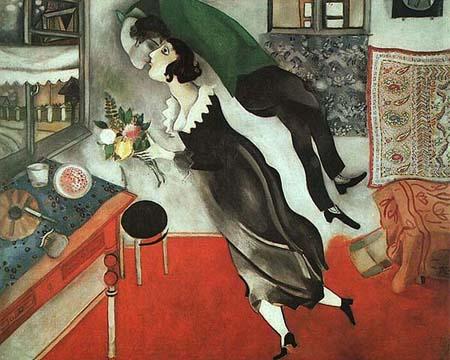 俄罗斯画家马克·夏加尔笔下的巴黎情结图片