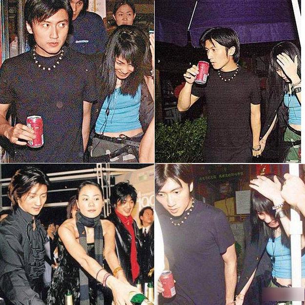 2001年,王菲谢霆锋甜蜜期传婚讯;2002年张柏芝出现,媒体开始传图片