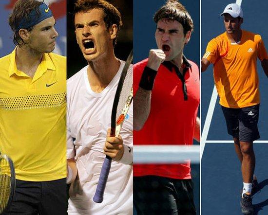 上海网球大师赛迎来超豪华阵容 四巨头外还有强