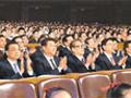 习近平等七常委观看音乐会 江泽民李鹏现身