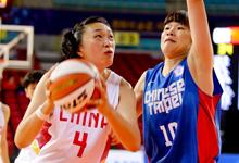 女篮半决赛中国75-63中华台北 决赛将战韩国
