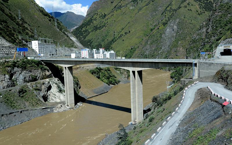 藏区最大水电站四川雅江开工 将建中国最高大坝图片 244698 800x499