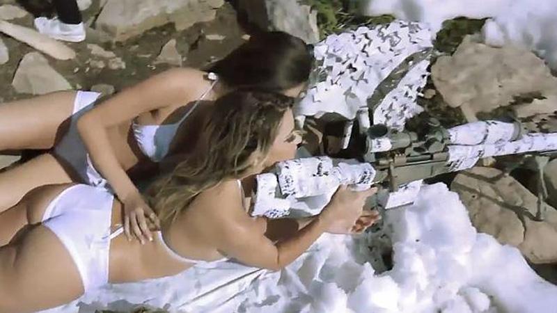 时尚大片在美国靶场取景 遭政府调查_时尚频道