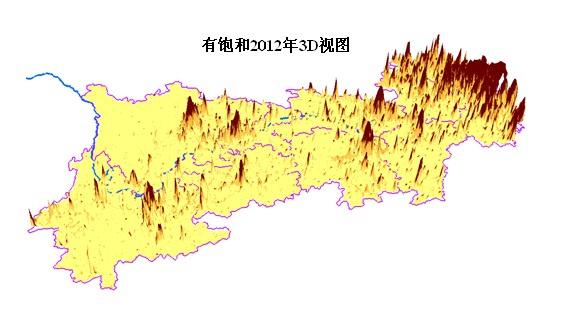 中国长江地形剖面图