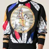Versace 2014秋冬系列上衣