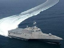 濒海战斗舰:巨舰身材 快艇时速