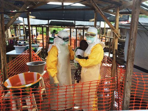独家中国女医生 与埃博拉共处的一个月