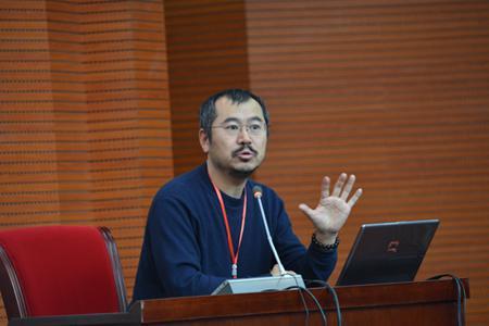 北京师范大学哲学与社会学院的田松-第二届 鄱阳湖生态文明护生节 举