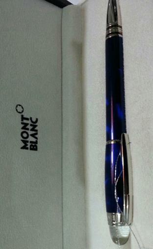 星际行者系列冰蓝色墨水笔25612