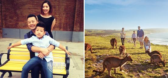 凤凰时尚再出发 携手郭涛全家探访南澳袋鼠岛