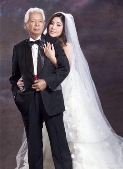 83岁导演丧偶后闪婚38岁娇妻 老夫少妻hold住吗